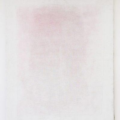 """""""Bühnenbild"""",Acryl auf Jute, 262x205 cm, 2004"""