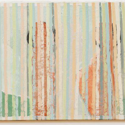 """""""Begegnung"""", Öl auf Jute, 140x100 cm, 1995-2014"""